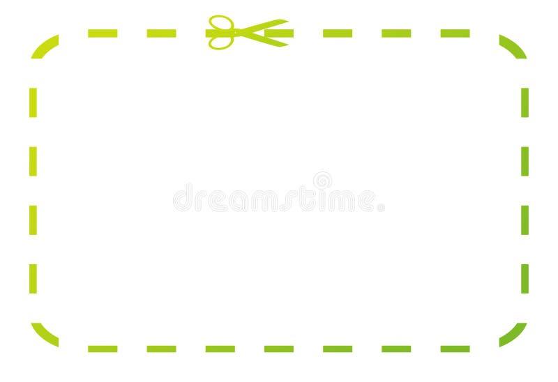 πράσινη απόδειξη δελτίων ελεύθερη απεικόνιση δικαιώματος