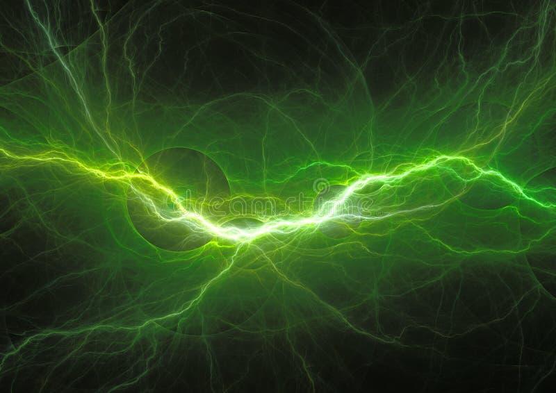 πράσινη αστραπή διανυσματική απεικόνιση