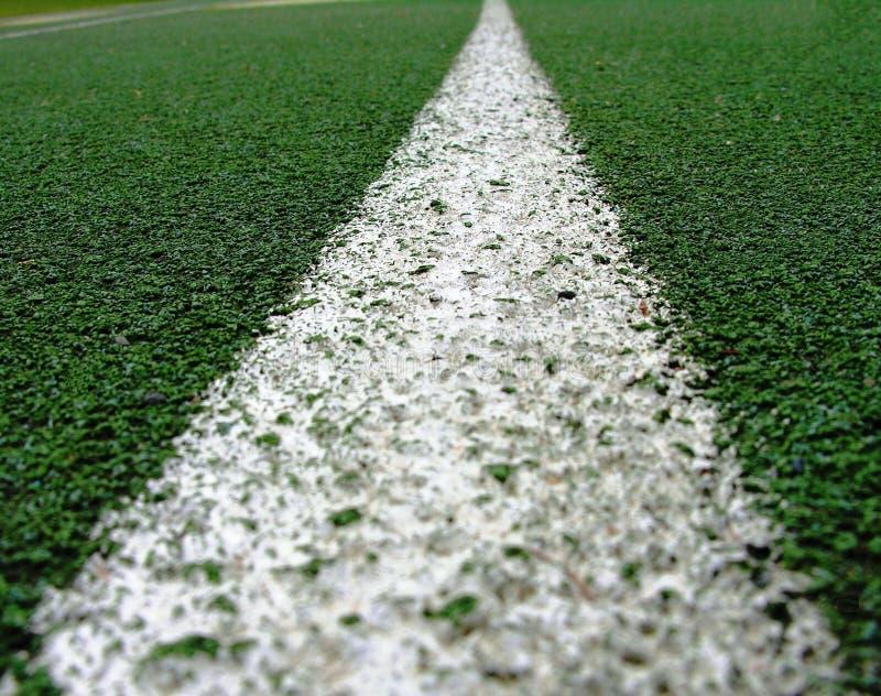 Πράσινη Γραμμή λευκό στοκ φωτογραφία με δικαίωμα ελεύθερης χρήσης
