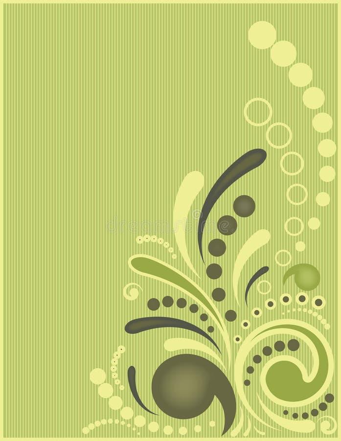 πράσινη διακόσμηση ελεύθερη απεικόνιση δικαιώματος