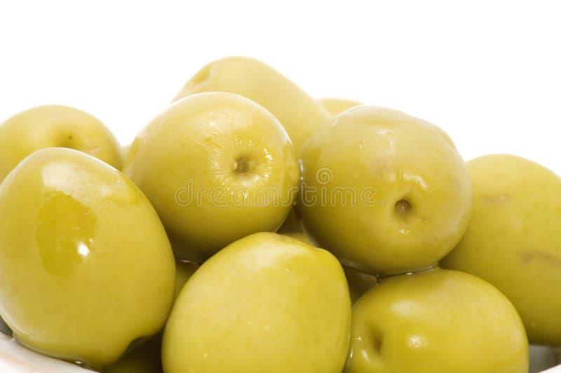 πράσινη ελιά στοκ εικόνα