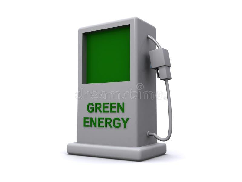 Πράσινη ενέργεια ελεύθερη απεικόνιση δικαιώματος