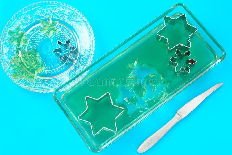 πράσινη ζελατίνα στοκ φωτογραφία με δικαίωμα ελεύθερης χρήσης