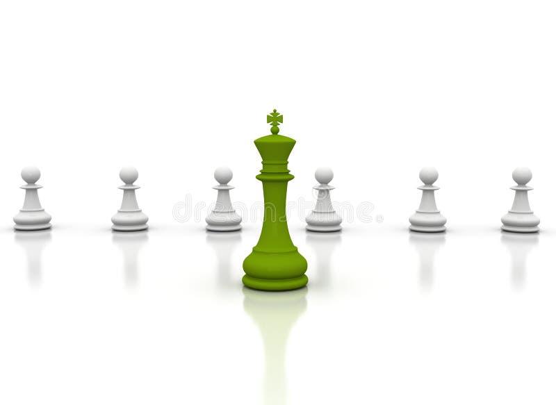 πράσινη ηγεσία διανυσματική απεικόνιση