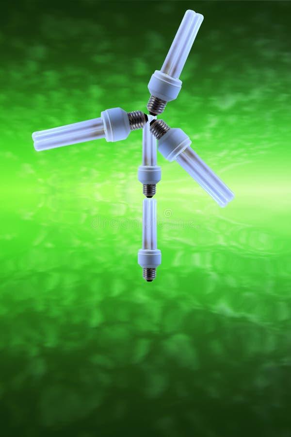 πράσινη ισχύς eco στοκ εικόνα με δικαίωμα ελεύθερης χρήσης