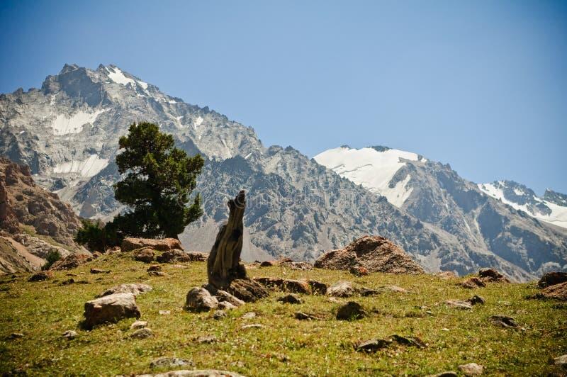 πράσινη κοιλάδα βουνών στοκ φωτογραφία με δικαίωμα ελεύθερης χρήσης