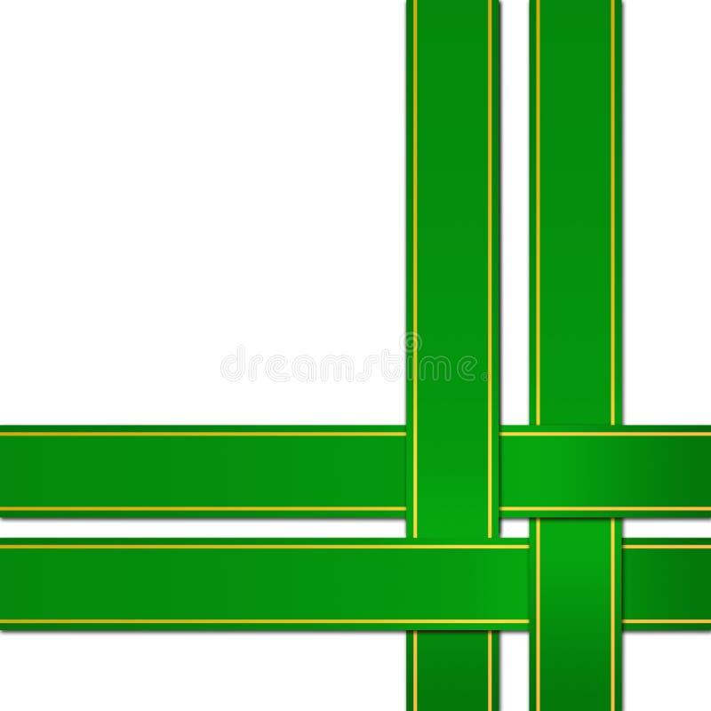 πράσινη κορδέλλα απεικόνιση αποθεμάτων