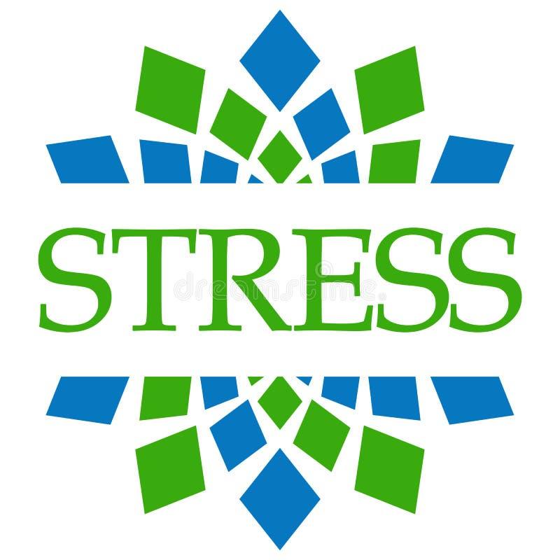 Πράσινη μπλε εγκύκλιος πίεσης ελεύθερη απεικόνιση δικαιώματος