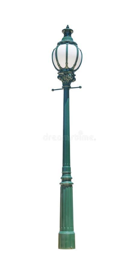 Πράσινη οδός lamppost στοκ φωτογραφία με δικαίωμα ελεύθερης χρήσης
