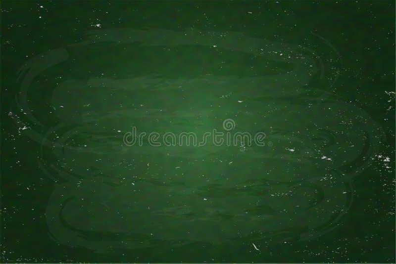 Πράσινη παρουσίαση σχολικών πινάκων, πίνακας σύστασης απεικόνιση αποθεμάτων