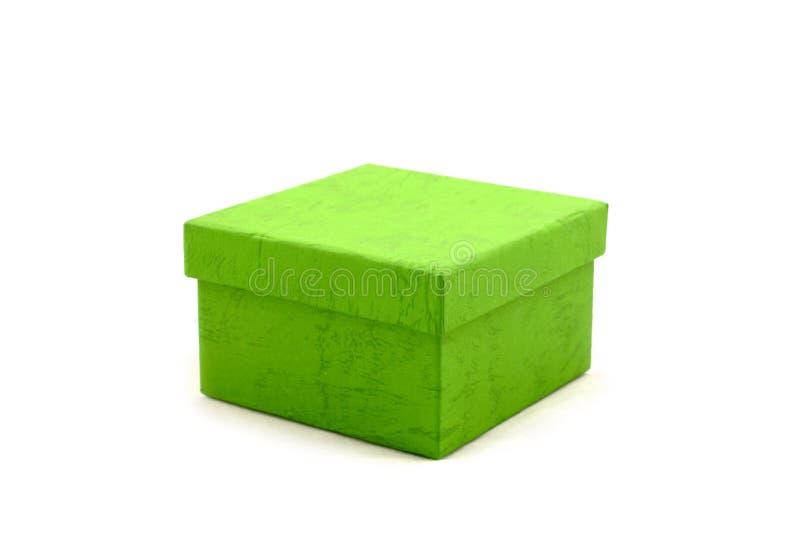 πράσινη πεδιάδα δώρων κιβω&tau στοκ φωτογραφία με δικαίωμα ελεύθερης χρήσης