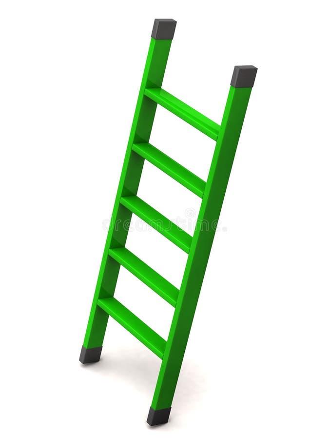 πράσινη σκάλα ελεύθερη απεικόνιση δικαιώματος