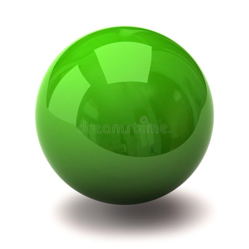 πράσινη σφαίρα απεικόνιση αποθεμάτων
