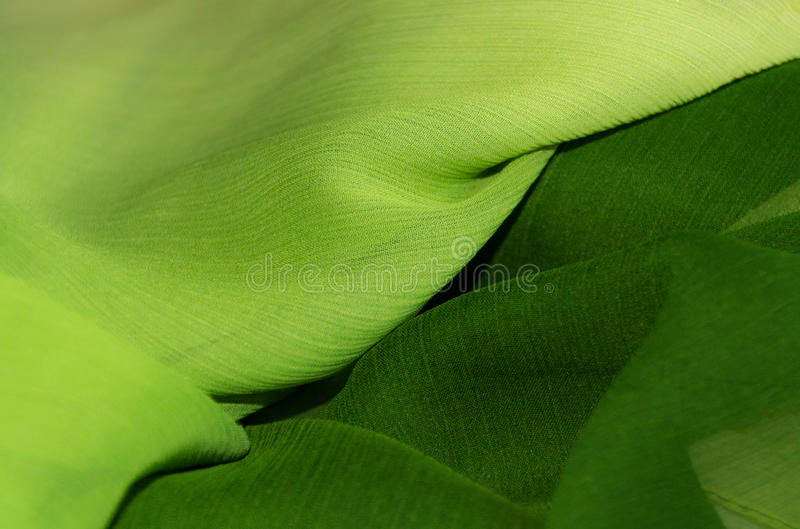 Πράσινη σύσταση υφάσματος σιφόν, διαγώνια σύσταση στοκ φωτογραφία με δικαίωμα ελεύθερης χρήσης