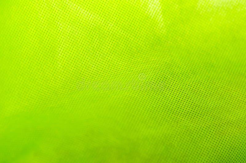 Πράσινη σύσταση υφάσματος στοκ φωτογραφίες
