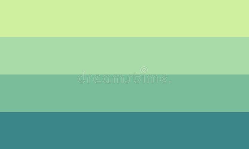 πράσινη ταπετσαρία διανυσματική απεικόνιση