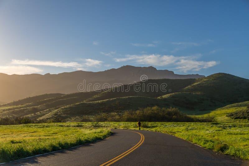 Πράσινοι λόφοι μετά από τη βροχή στοκ εικόνες με δικαίωμα ελεύθερης χρήσης