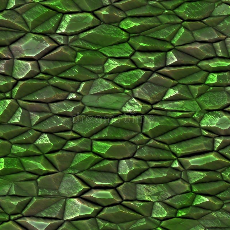 πράσινος ακατέργαστος π&omic ελεύθερη απεικόνιση δικαιώματος
