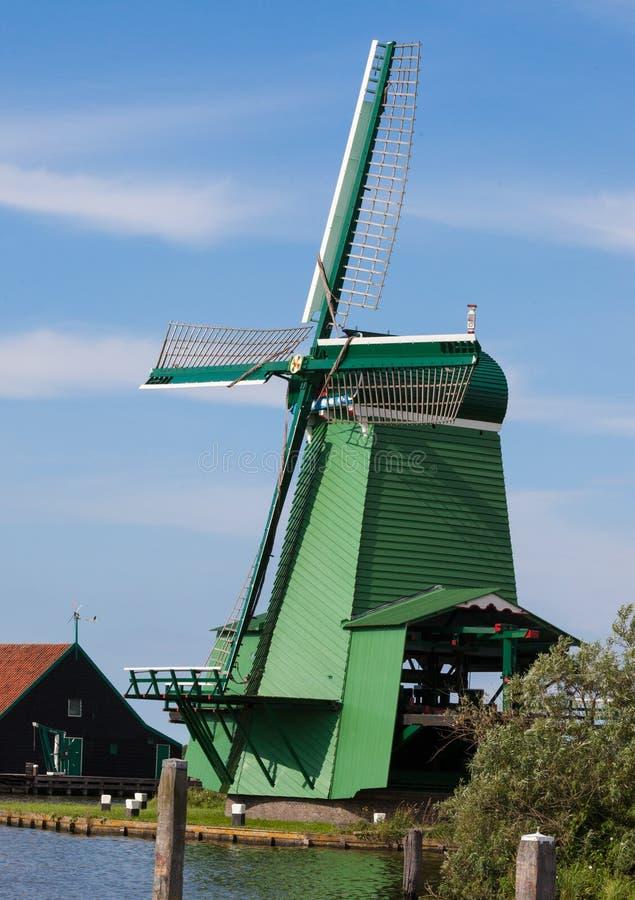Ανεμόμυλος της Ολλανδίας το καλοκαίρι στοκ εικόνα με δικαίωμα ελεύθερης χρήσης