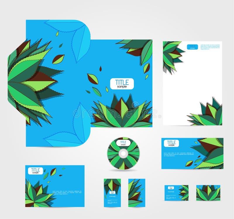 πράσινος βγάζει φύλλα απεικόνιση αποθεμάτων