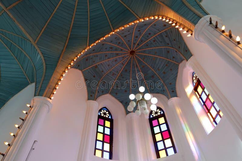 Πράσινος θόλος εκκλησιών στοκ εικόνες με δικαίωμα ελεύθερης χρήσης
