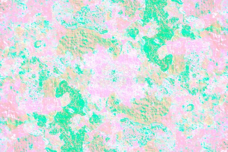 Πράσινος και ρόδινος χρήσιμος Grunge για κάνει τις κάρτες, προσκλήσεις, θέση απεικόνιση αποθεμάτων