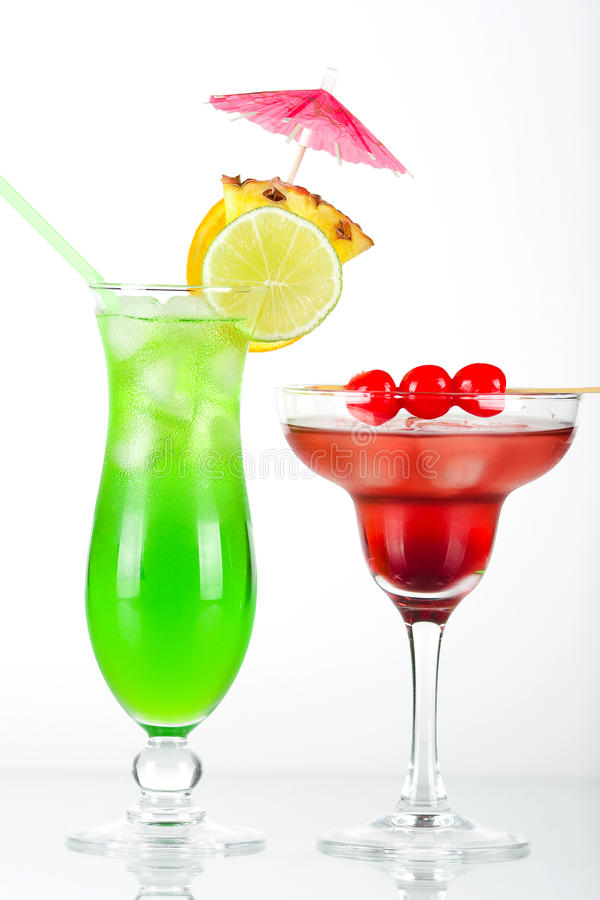 πράσινος κόκκινος τροπι&kappa στοκ φωτογραφίες με δικαίωμα ελεύθερης χρήσης