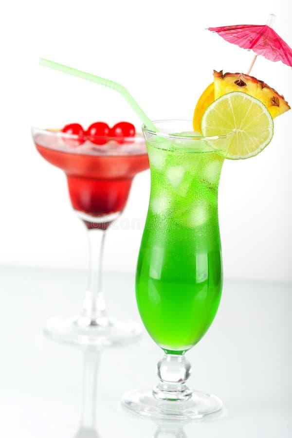 πράσινος κόκκινος τροπι&kappa στοκ φωτογραφία με δικαίωμα ελεύθερης χρήσης