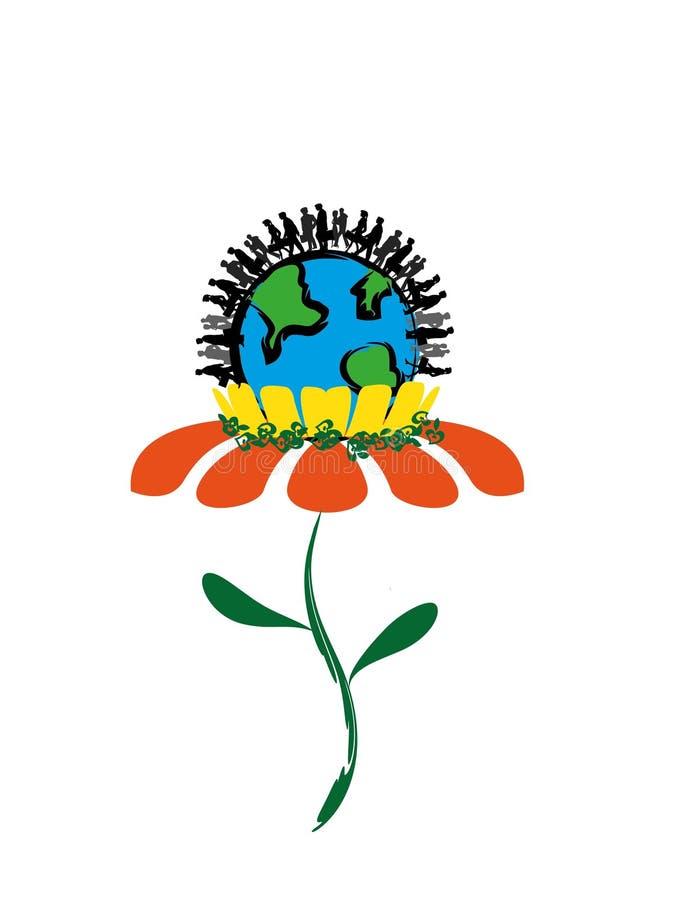 πράσινος κόσμος στοκ εικόνα με δικαίωμα ελεύθερης χρήσης