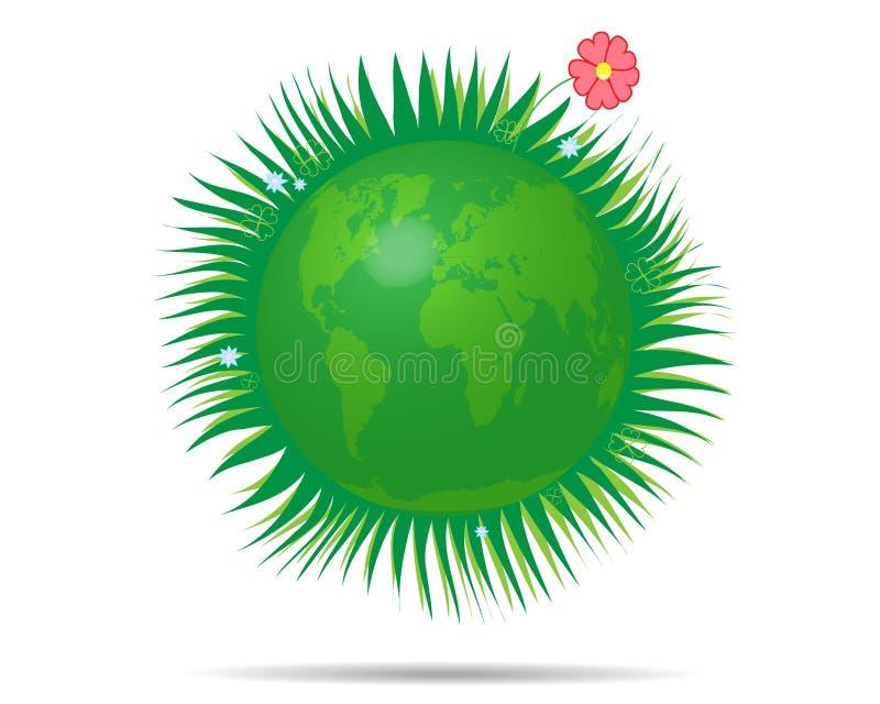 πράσινος κόσμος ελεύθερη απεικόνιση δικαιώματος