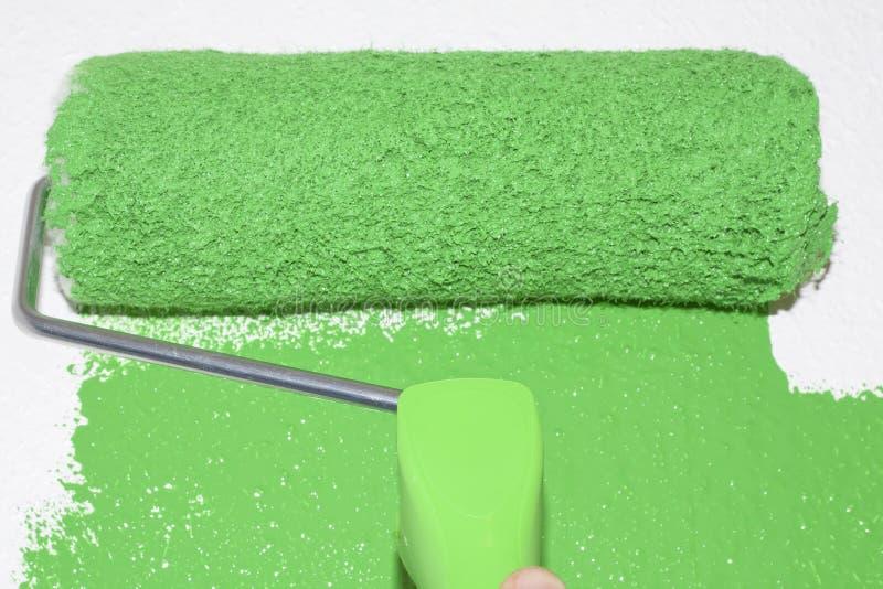 Πράσινος κύλινδρος στοκ φωτογραφία με δικαίωμα ελεύθερης χρήσης