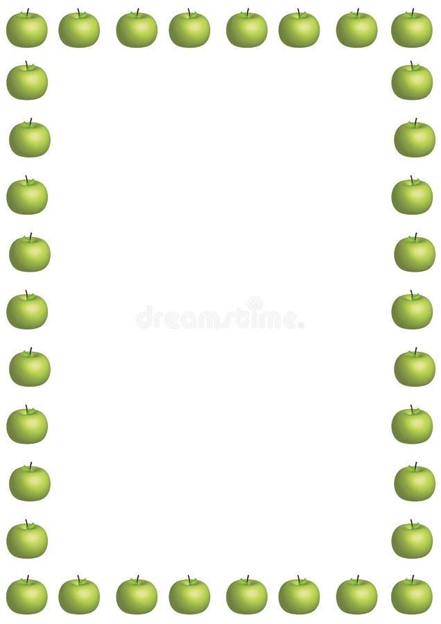 πράσινος μεγάλος συνόρων  απεικόνιση αποθεμάτων