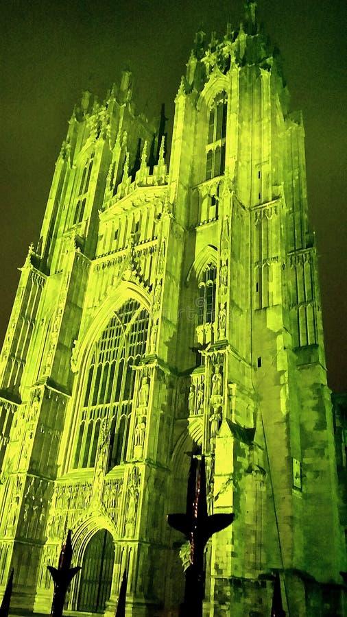 Πράσινος μοναστηριακός ναός της Beverley στοκ φωτογραφία με δικαίωμα ελεύθερης χρήσης