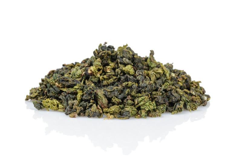 Πράσινος σωρός τσαγιού Oolong στοκ φωτογραφία με δικαίωμα ελεύθερης χρήσης