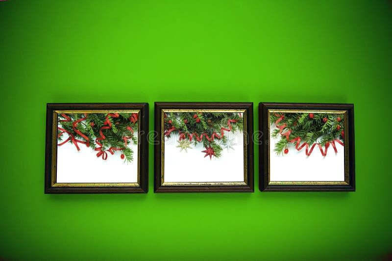 πράσινος τοίχος πλαισίων &C στοκ εικόνες με δικαίωμα ελεύθερης χρήσης
