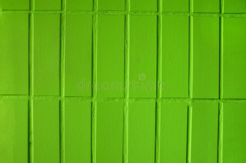 Πράσινος τουβλότοιχος για το υπόβαθρο στοκ φωτογραφία