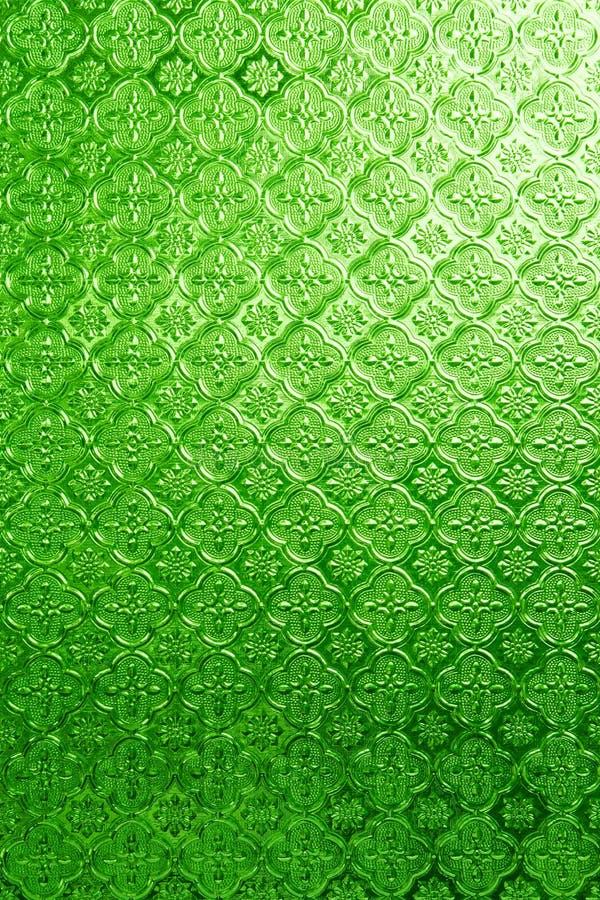 Πράσινος του λεκιασμένου γυαλιού στοκ εικόνες