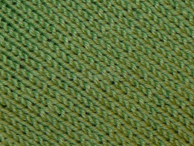 πράσινος υφάσματος πλεκ& στοκ εικόνες