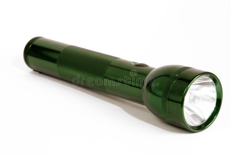 πράσινος φανός στοκ εικόνα