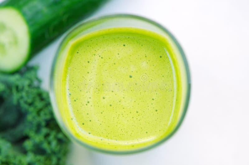 Πράσινος χυμός στοκ φωτογραφίες