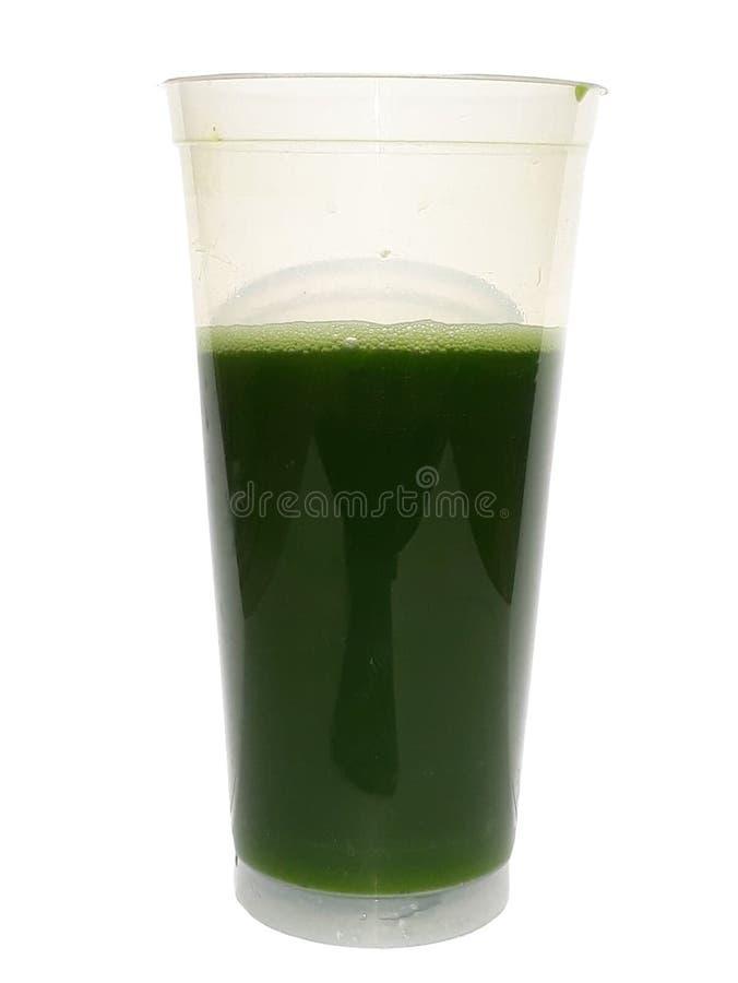 Πράσινος pandan χυμός νερού στοκ εικόνα με δικαίωμα ελεύθερης χρήσης
