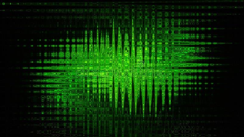 πράσινο δίκτυο ανασκόπηση απεικόνιση αποθεμάτων