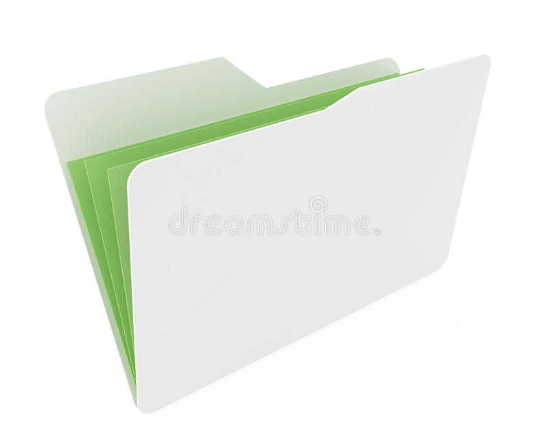 πράσινο ανοικτό λευκό εγ&g απεικόνιση αποθεμάτων