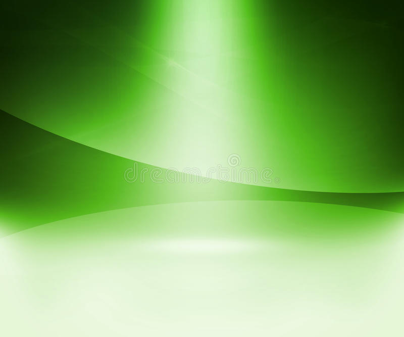 Πράσινο αφηρημένο υπόβαθρο πυράκτωσης ελεύθερη απεικόνιση δικαιώματος