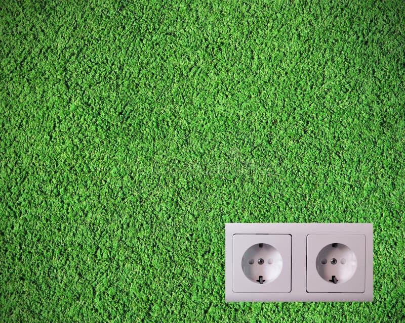 πράσινο βύσμα στοκ φωτογραφία