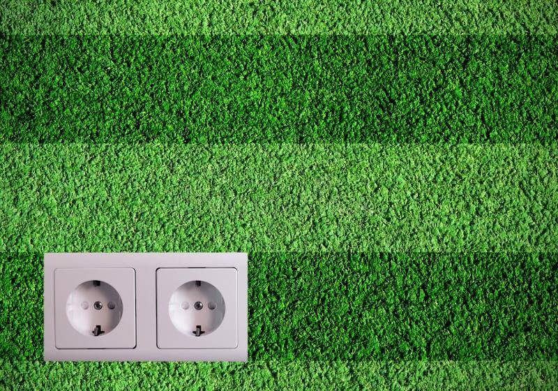 Πράσινο βύσμα στοκ φωτογραφία με δικαίωμα ελεύθερης χρήσης