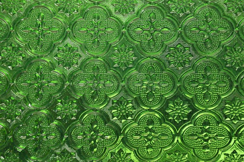 Πράσινο γυαλί στοκ φωτογραφίες
