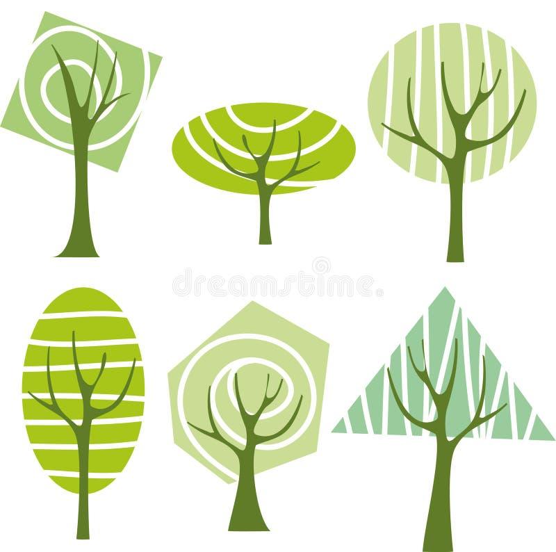πράσινο δέντρο απεικόνιση αποθεμάτων