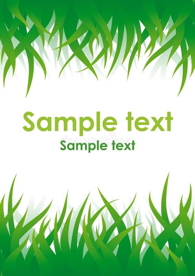πράσινο διάνυσμα χλόης ανασκόπησης απεικόνιση αποθεμάτων