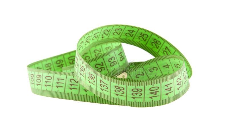 Πράσινο εκατοστόμετρο στοκ εικόνες